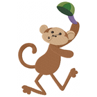 Little Mister Monkey tips his hat