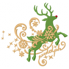 Filigree Rudolph Right