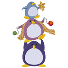 Christmas Penguin Stack