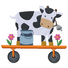 Tractor Cow