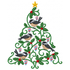 Christmas Tweets - Chickadee