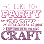 I like to Party (Craft) (Set)