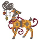 Clockwork Reindeer