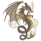 Steampunk Wyvern