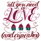 Love and Cupcakes (Set)