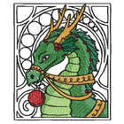 Art Noveau Dragon (Small) (Set)