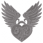 Baroque Winged Heart
