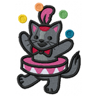 Too Cute Circus Cat