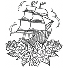 Ship on Roses