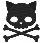 Punk Kitty Skull Large (Set)