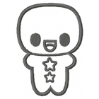 Gingerbread Man - Outline