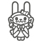 Christmas Rabbit - Outline
