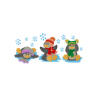 Winter Penguin Trio