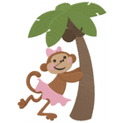 Little Miss Monkey wants a Coconut