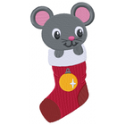 Christmas Stocking Mouse (Set)