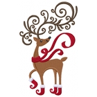 Frolicking Fancy Reindeer (Set)