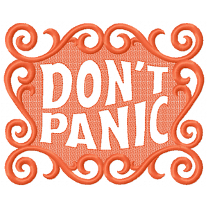 Don't Panic (large friendly letters)